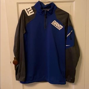 Nike NY Giants on-field quarter zip